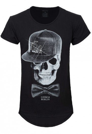Cap Skull Long-Shirt