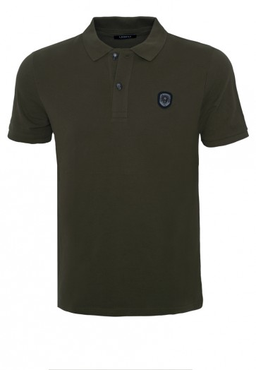 Death's Head Khaki Polo