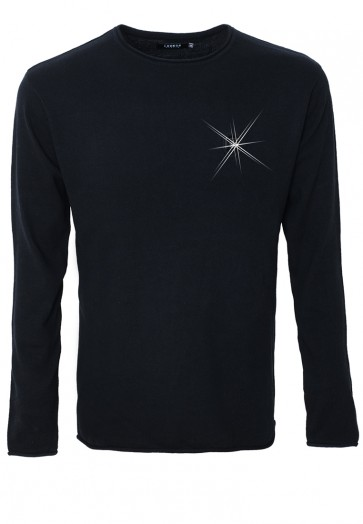 HAUPTSTADTROCKER Death's Badge Pullover
