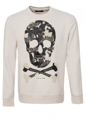 Camouflage Skull Sweater