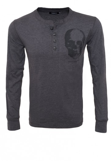 Death's Head Button Longsleeve