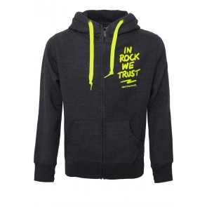 In Rock we Trust Zip Hoodie