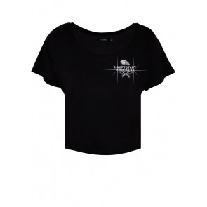 In Rock we Trust Crop-Shirt