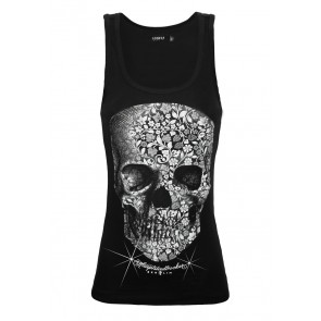 Blooms Head Tanktop Girl
