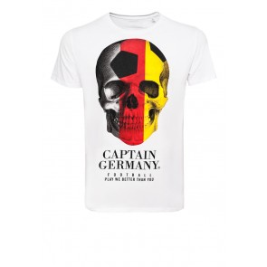 Captain Germany - Soccer Skull - Shirt Guy