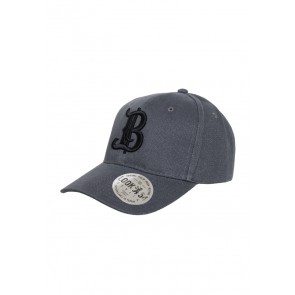 Berlinicious Big B Snapback Base Cap GRAU