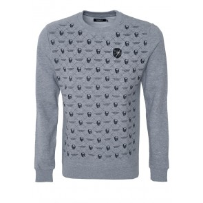 Skulls Allover - Sweater