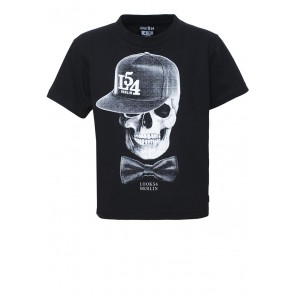 LOOK54 Brand Fetish Cap Skull T-Shirt