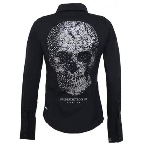 HAUPTSTADTROCKER Death's Head Blouse