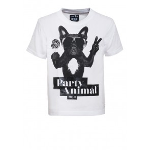 PARTY ANIMAL FRENCH BULLDOG Kids Shirt