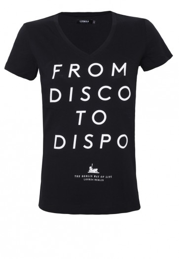 From Disco to Dispo Shirt