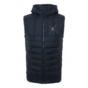 Death's Badge Quilted Vest