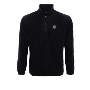 fairway-heroes-fleece-sweater-schwarz